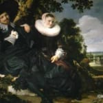 「新婚夫婦の肖像」 フランス・ハルス
