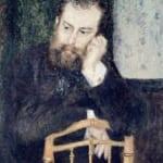 「シスレーの肖像」 ルノワール (オーギュスト・ルノワール)