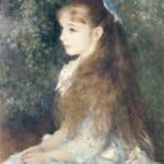 「イレーヌ・カーン・ダンヴェール嬢の肖像」 ルノワール (オーギュスト・ルノワール)