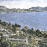 「レスタックから眺めたマルセイユ湾」 ポール・セザンヌ