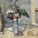 「青い花瓶」 ポール・セザンヌ