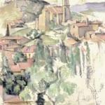 「ガルダンヌの村」 ポール・セザンヌ