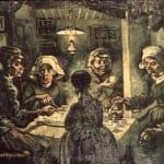 「馬鈴薯を食べる人々」 フィンセント・ファン・ゴッホ