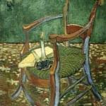 「ゴーガンの肘掛け椅子」 フィンセント・ファン・ゴッホ