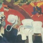 「説教の幻影」 ポール・ゴーガン