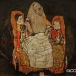 「母親と二人の子供」 エゴン・シーレ