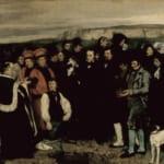 「オルナンの埋葬」 ギュスターヴ・クールベ