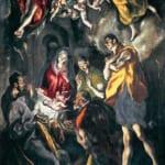 「羊飼の礼拝」 エル・グレコ