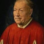 「枢機卿ニッコロ・アルベルガーティ」  ヴァン・エイク (ヤン・ヴァン・エイク)