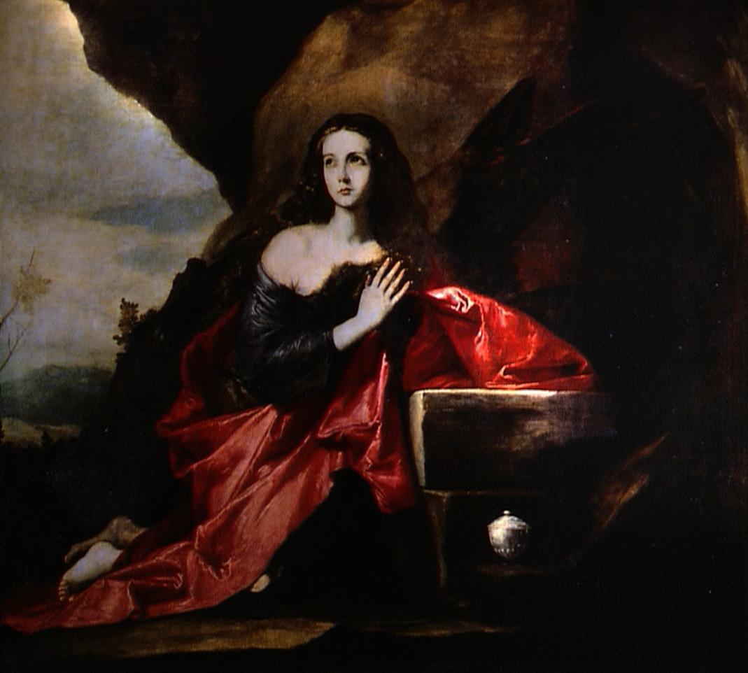 マグダラのマリア」 リベーラ(ホセ・デ・リベーラ) | 世界の美術館