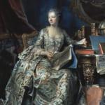 「ポンパドゥール夫人の肖像」 モーリス・カンタン・ド・ラ・トゥール