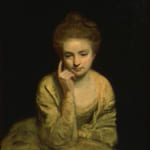 「若い婦人の肖像」 レノルズ(ジョシュア・レノルズ)