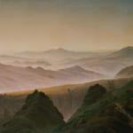 「リーゼンゲビルゲ山」 フリードリヒ(カスパー・ダーヴィト・フリードリヒ)