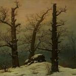 「雪の中の巨石墳墓」 フリードリヒ(カスパー・ダーヴィト・フリードリヒ)