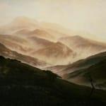 「霧のリーゼンゲビルゲ山地」 フリードリヒ(カスパー・ダーヴィト・フリードリヒ)