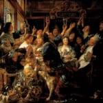 「豆王の祭」ヨルダーンス(ヤーコブ・ヨルダーンス)