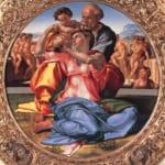 「聖家族」 ミケランジェロ