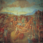 「ペテロの殉教」 ミケランジェロ