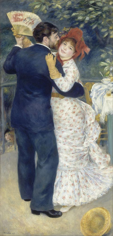 Pierre Auguste Renoir Country Dance Google Art Project