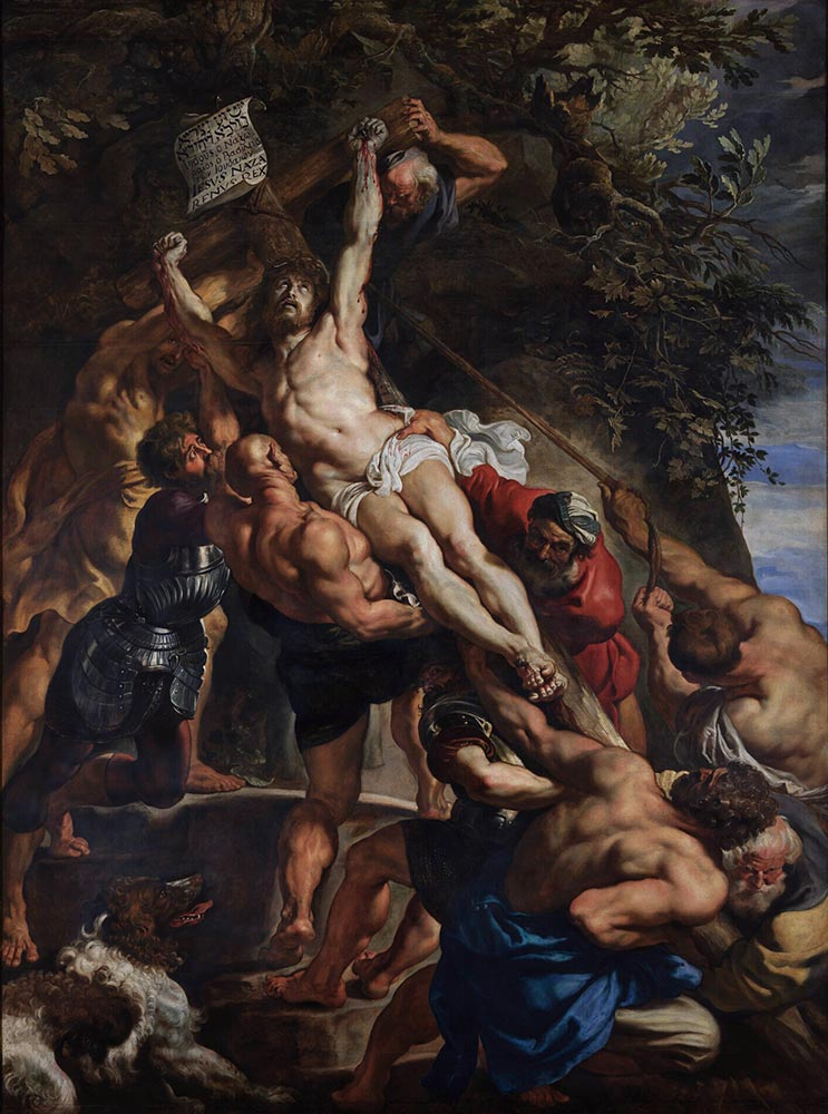 Peter Paul Rubens De kruisoprichting