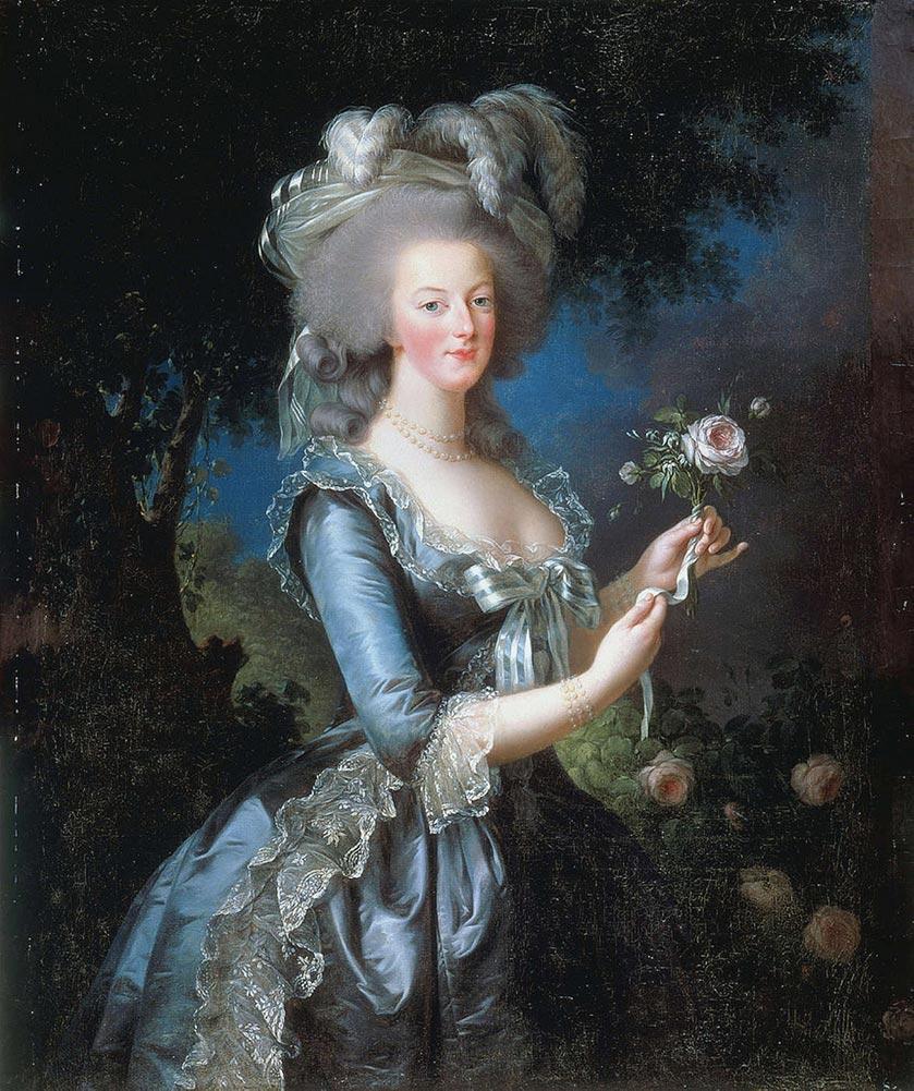 Vigée Lebrun Marie Antoinette 1783