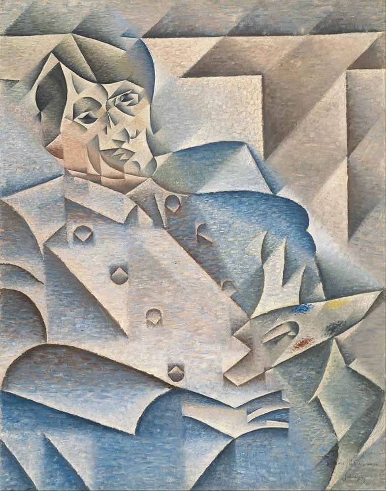 Juan Gris Portrait of Pablo Picasso Google Art Project