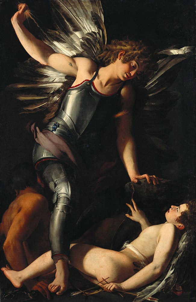 Giovanni Baglione The Divine Eros Defeats the Earthly Eros Google Art Project