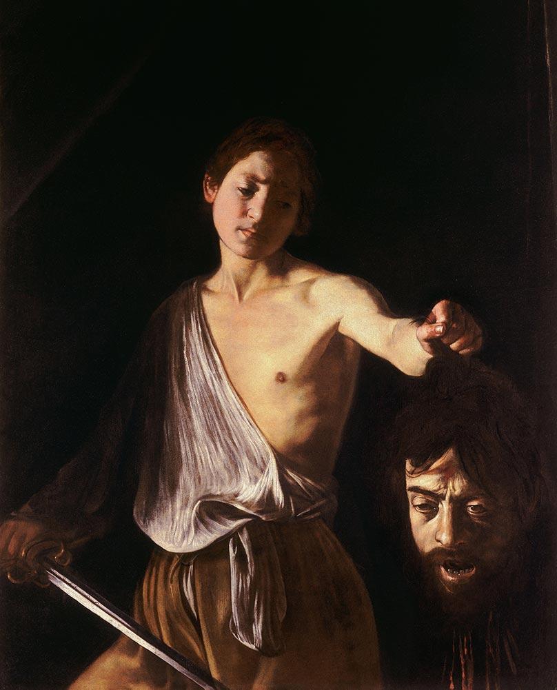 Caravaggio David con la testa di Golia
