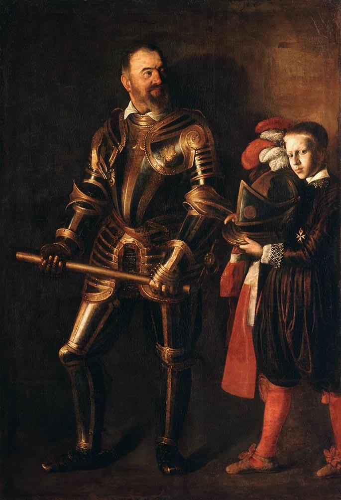 Portrait of Alof de Wignacourt and his Page Caravaggio 1607 1608