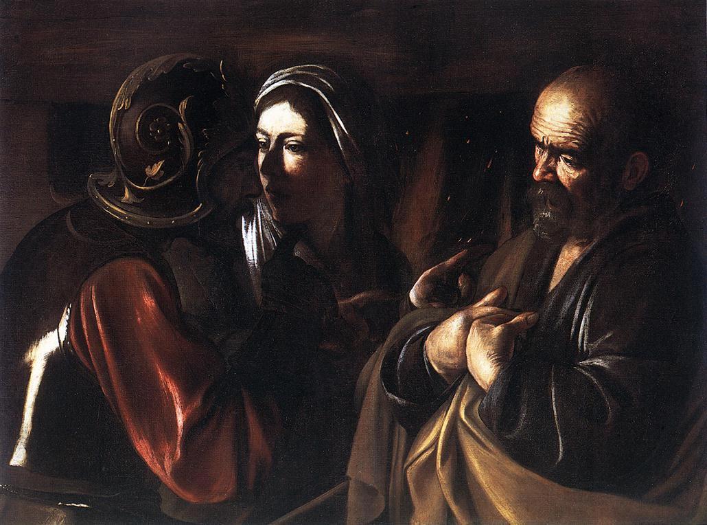 Caravaggio denial