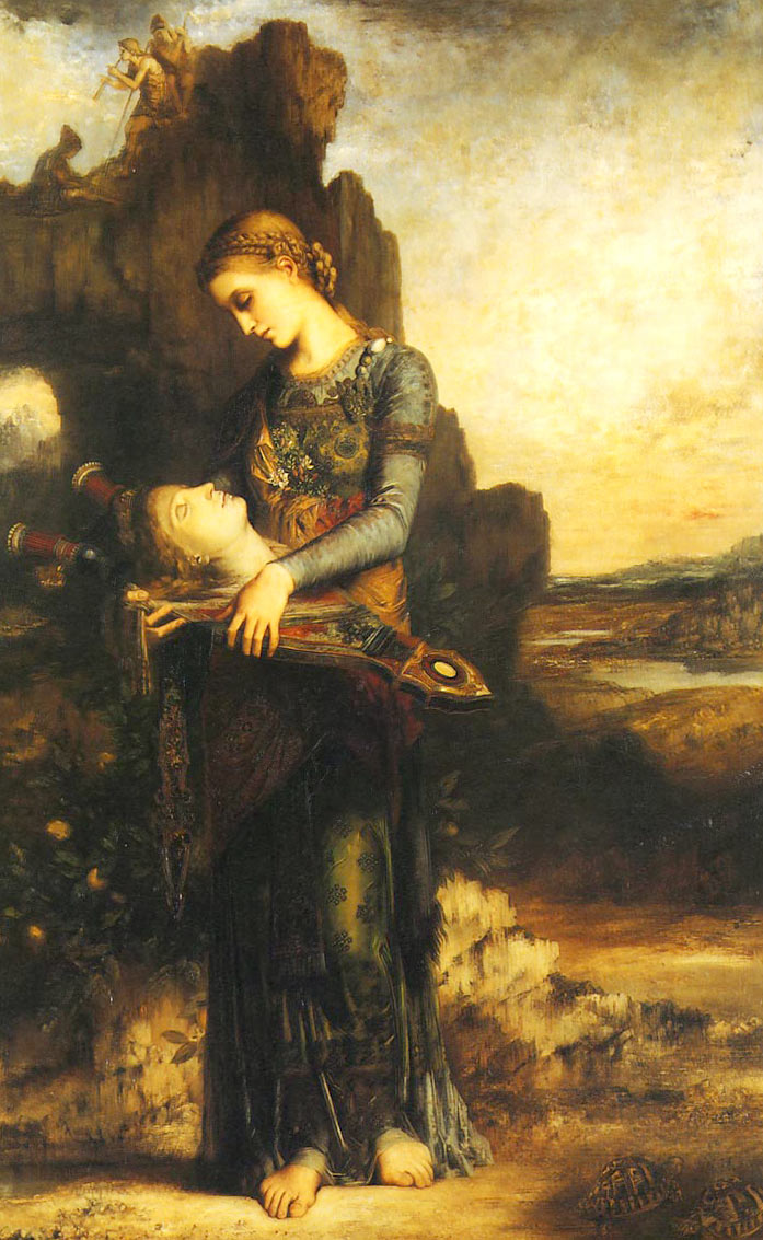 Gustave Moreau Orphée 1865