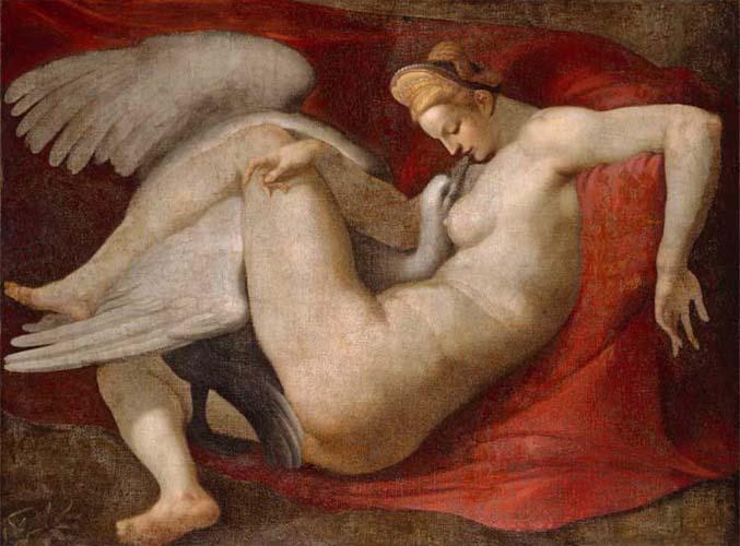 Leda after Michelangelo Buonarroti