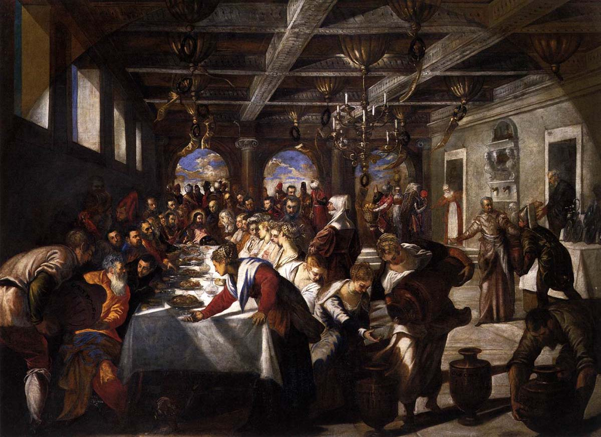 Jacopo Tintoretto Marriage at Cana WGA22470