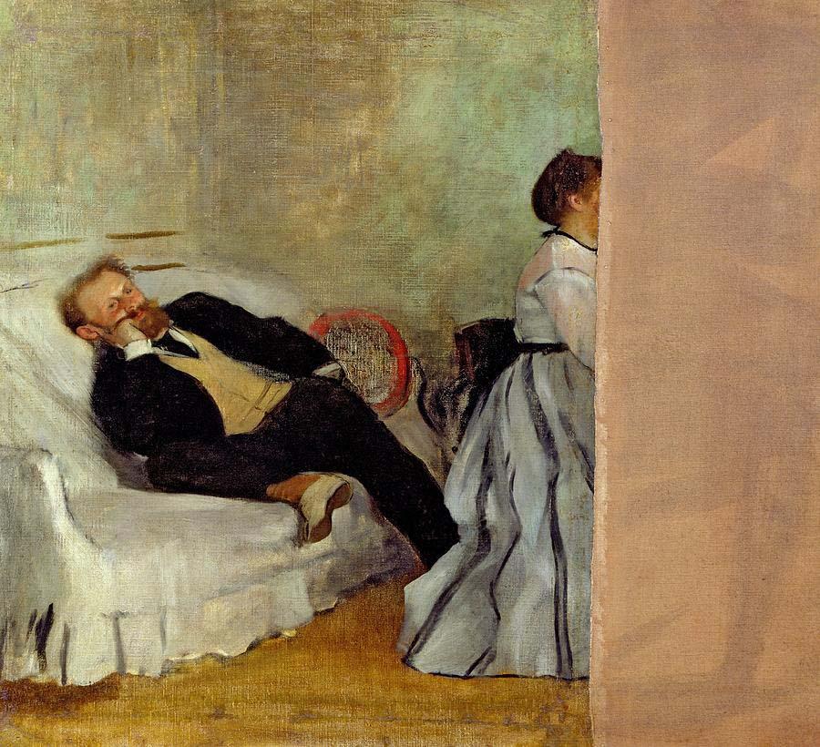 Edgar Degas Monsieur et Madame Edouard Manet