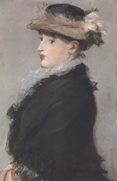 Édouard Manet Méry Laurent au chapeau garni de fleurs