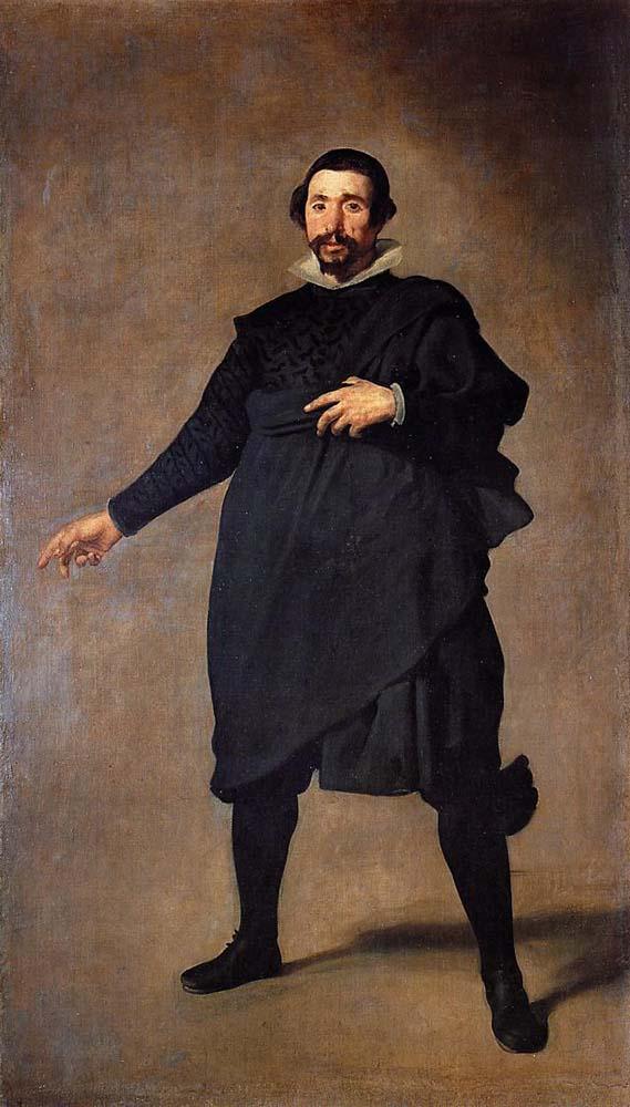 Pablo de Valladolid by Diego Velázquez