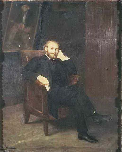 Alphonse Legros Portrait Édouard Manet