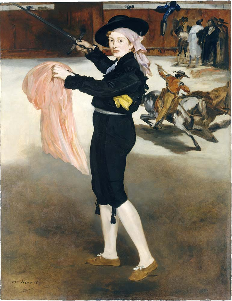 Edouard Manet Mlle Victorine Meurent in the Costume of an Espada