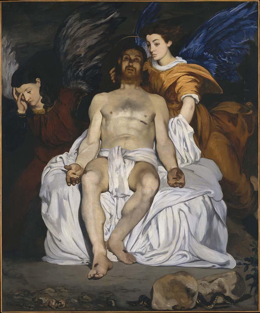 Édouard Manet Le Christ mort et les anges
