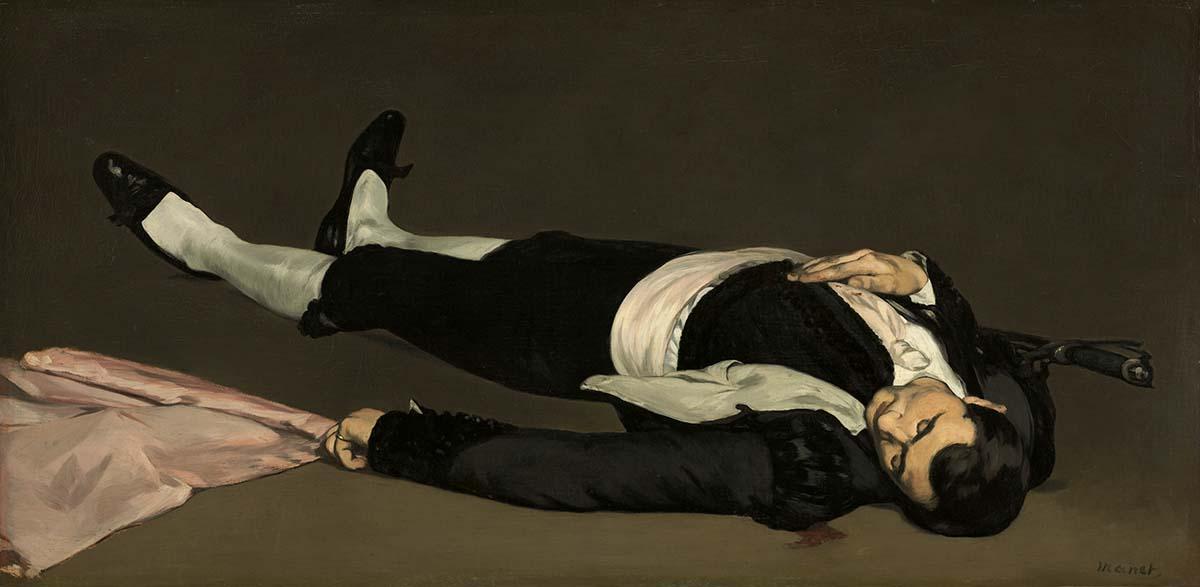 Edouard Manet 073 Toter Torero